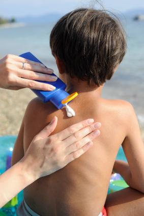 Sonnenbrand ist besonders für Kinder gefährlich